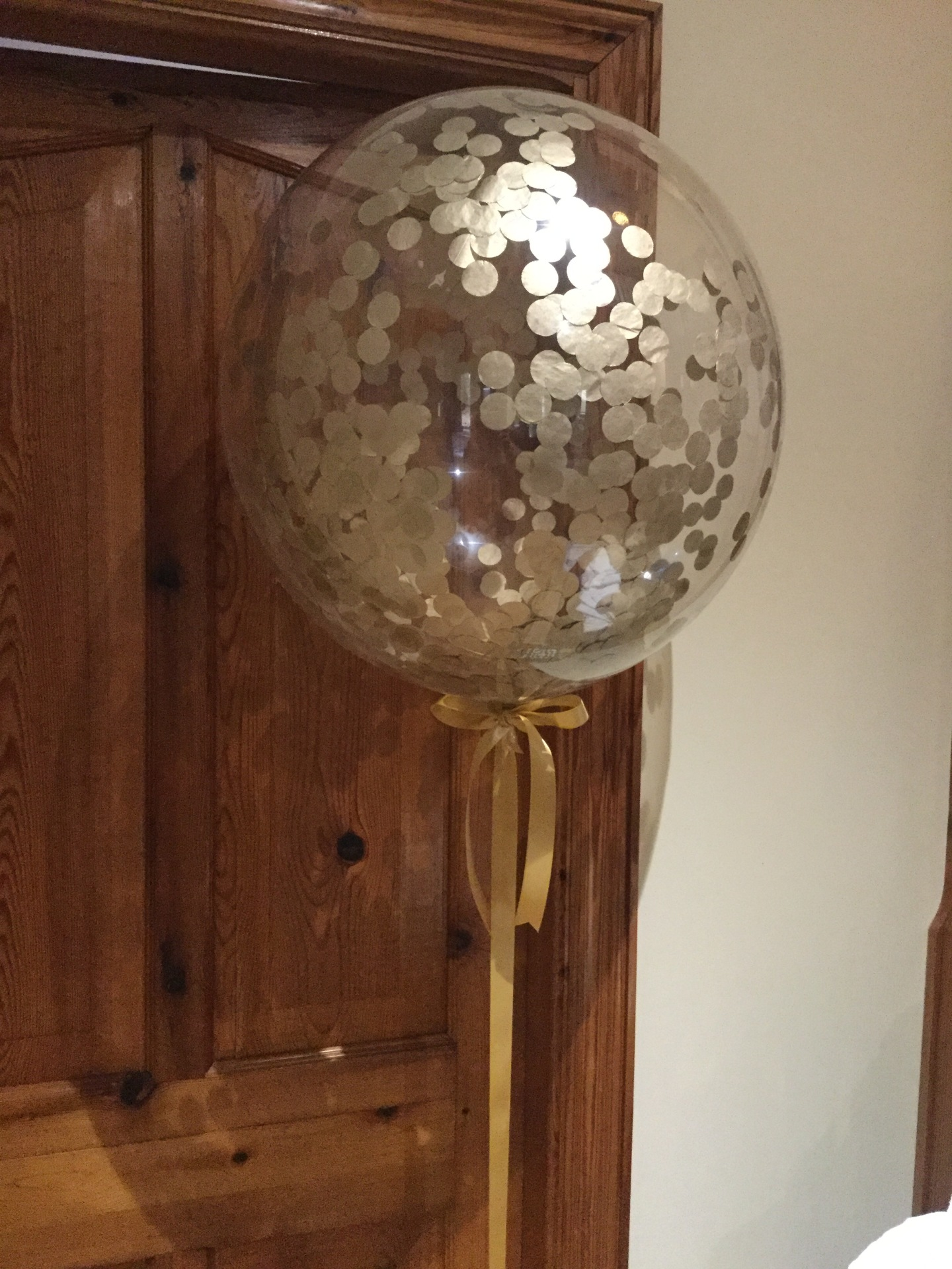 Confetti bubble