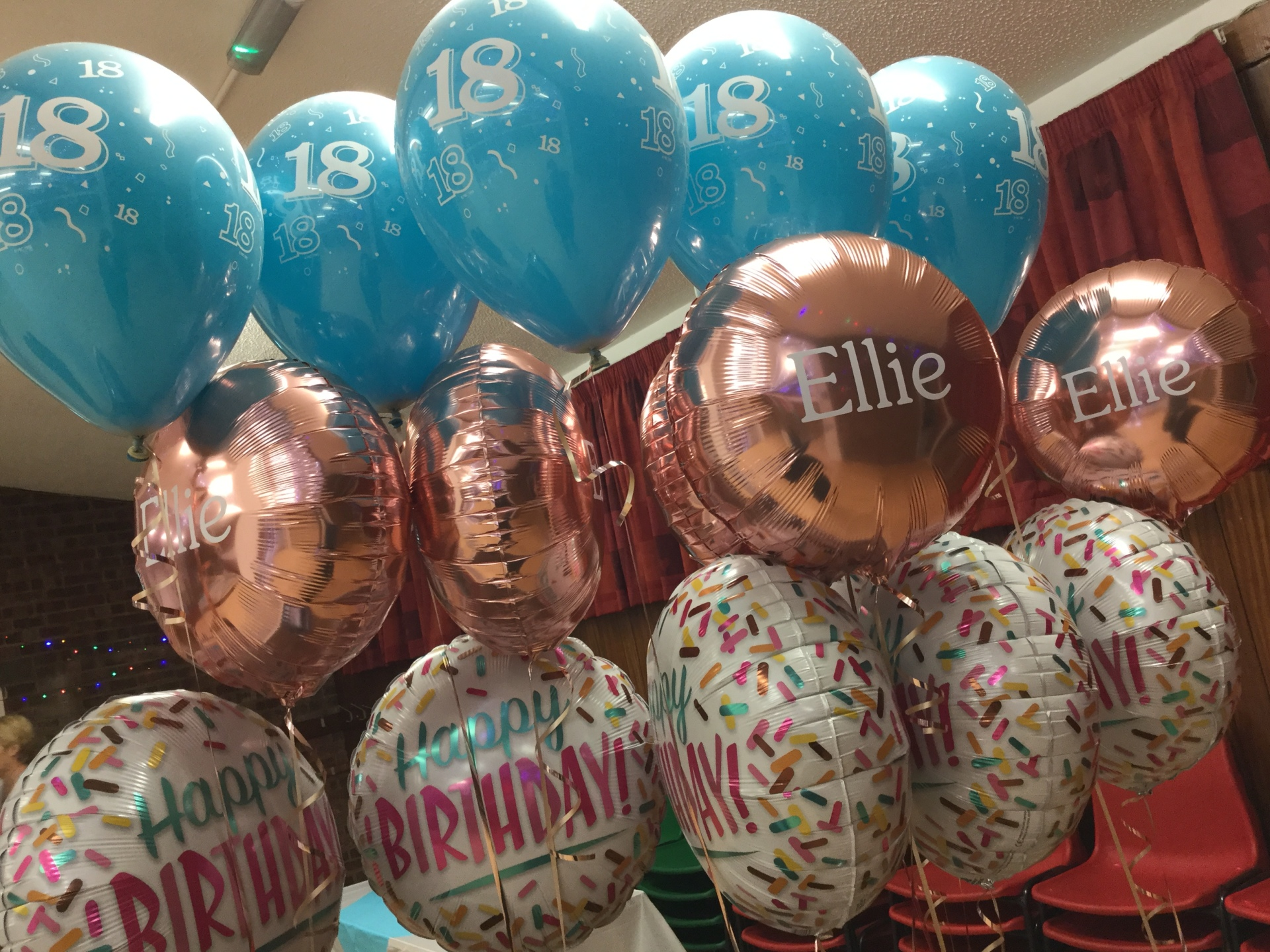 Personalised birthday bouquets