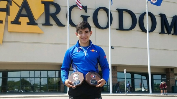 CADET NATIONALS Dominick Serrano And Cody Thompson  Double AA in Fargo, ND