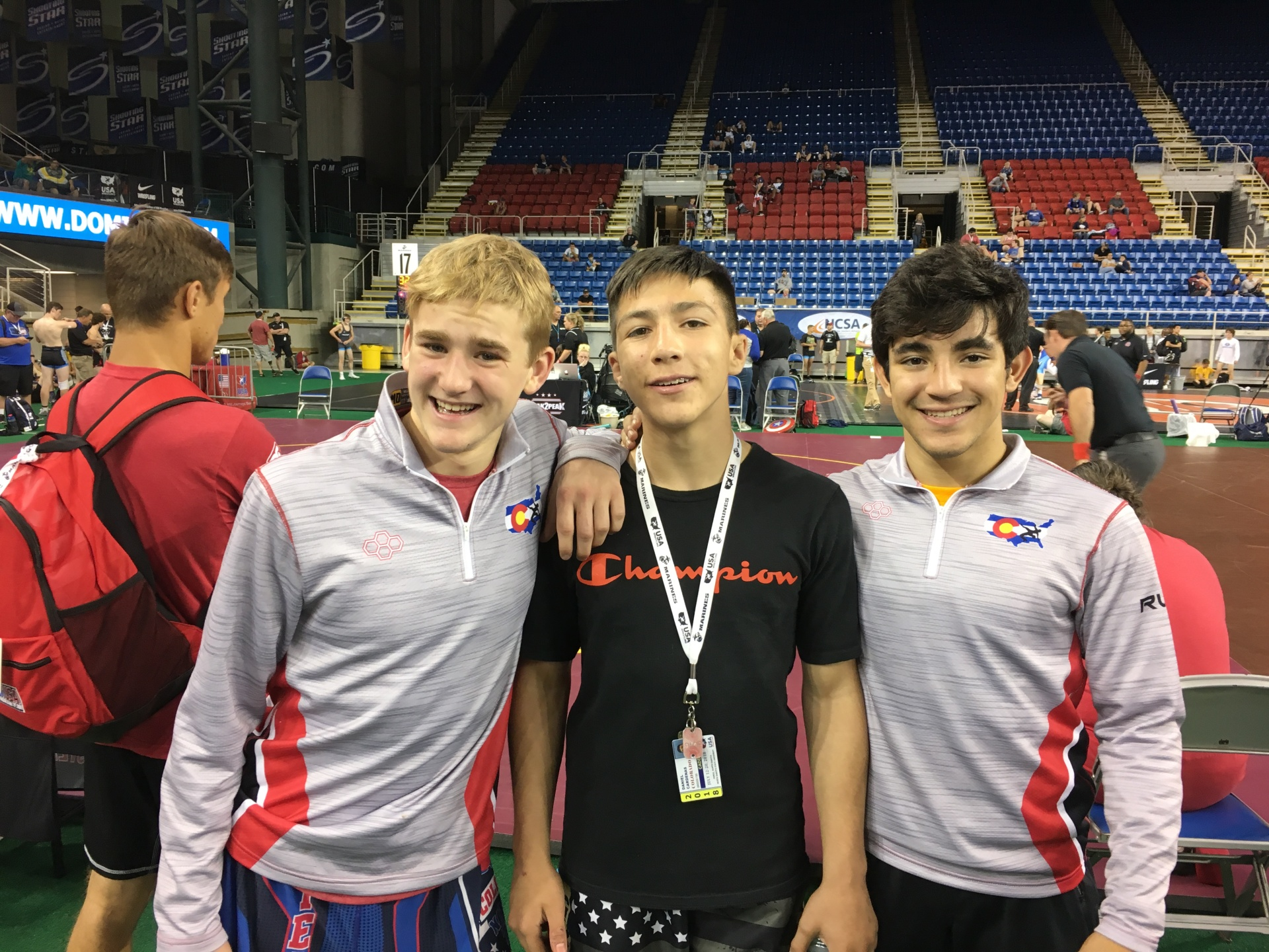 Wrestlers in the National Rankings