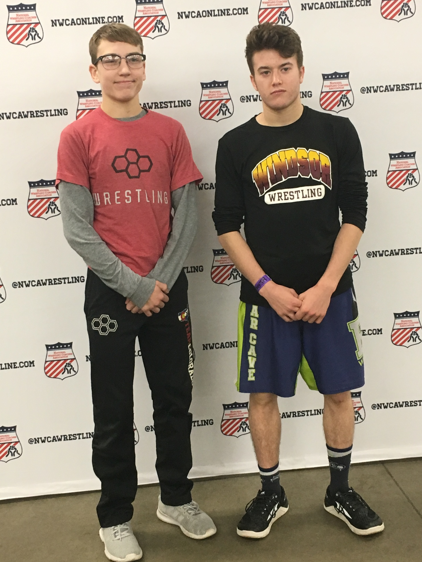 Will VomBaur, Cody Thompson and Dominick Serrano Competed in the NWCA All-Star Classic