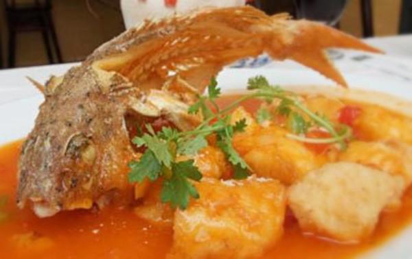 Cá Rô Phi Sốt Chua Ngọt