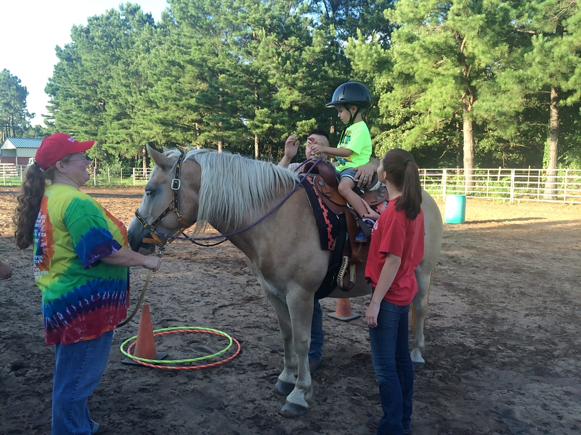 Equine-Assisted Riding Sessions