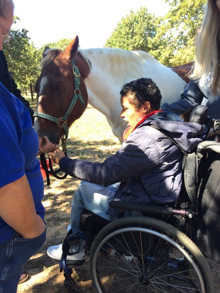 Choctaw High School Visits Hope Retreat Ranch