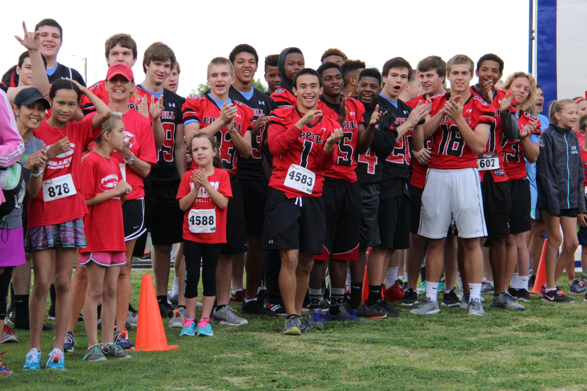 Red & Black Run to Fund