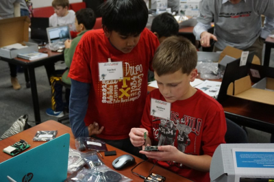 Robotics Camp sponsored by Verizon