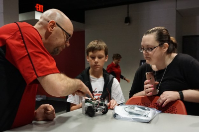 Red & Black Robotics Camp