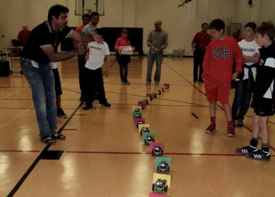 Red & Black Robotics Camp