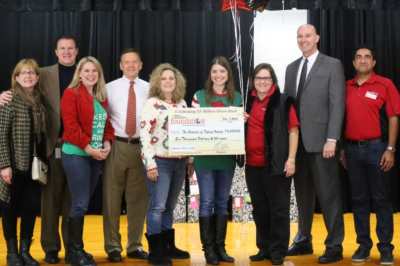 Red & Black Classroom Grants -- Reaches $1 Million in Giving