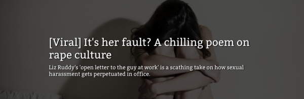 """More Updates on: """"An Open Letter to the Guy at Work"""""""