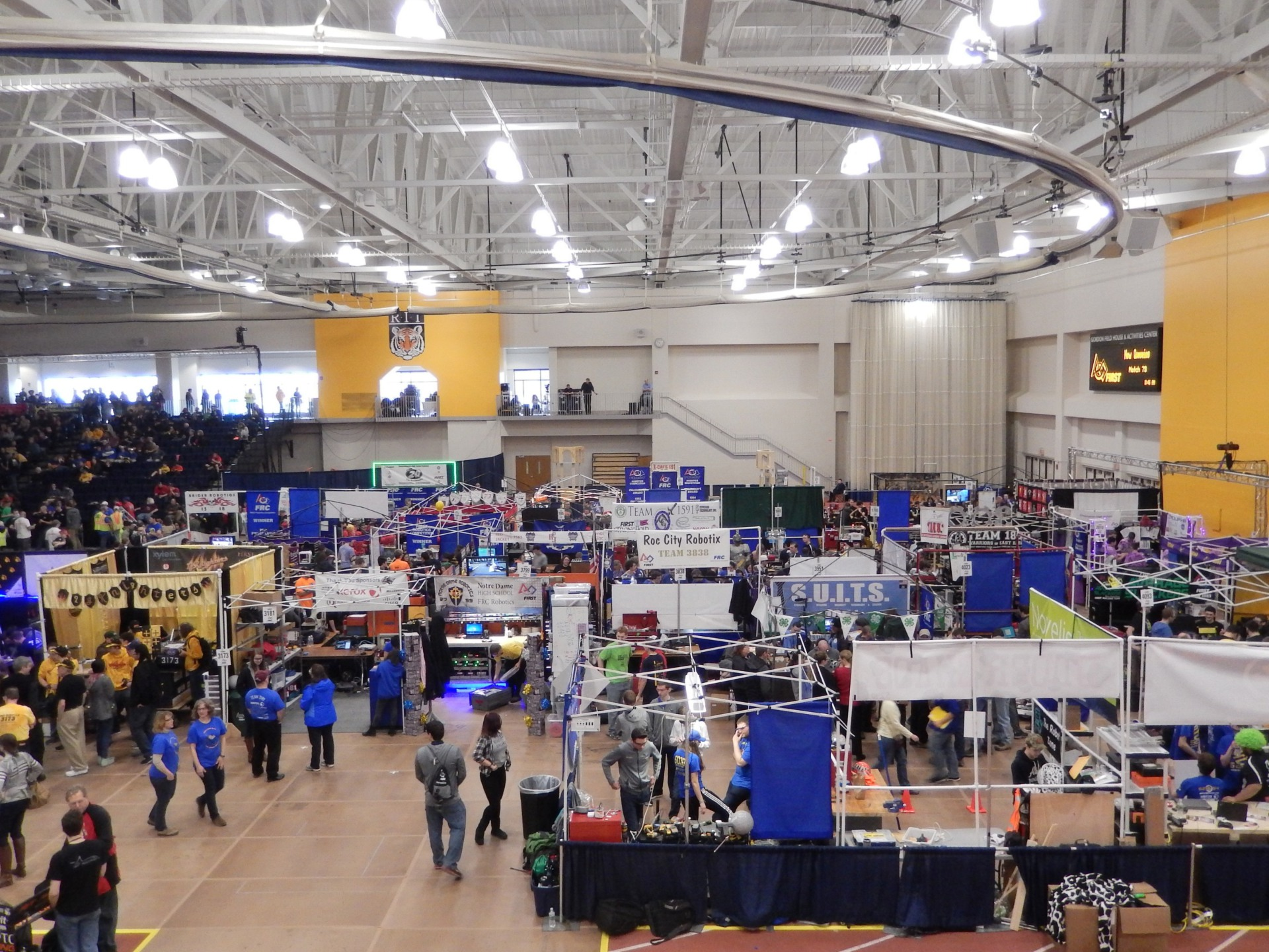 FIRST Robotics Pit Area