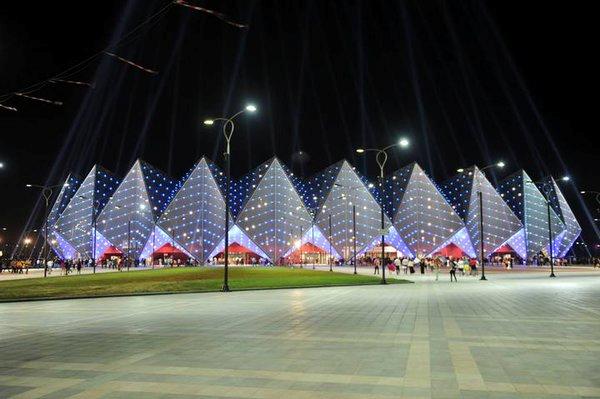 Baku's Crystal Hall