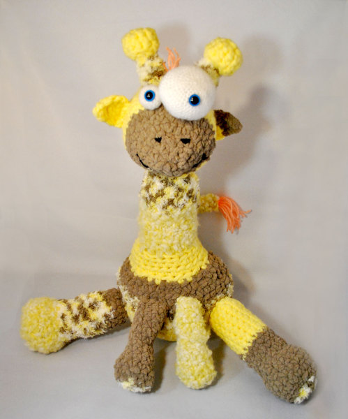 amigurumi, giraffe, baby, crochet, pattern, free, zoo, animal, plush