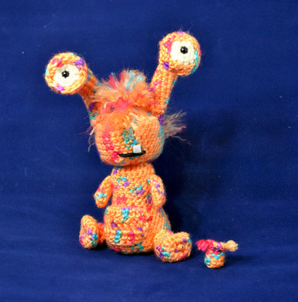 monster crochet pattern, amigurumi, monster, cute, kid, child, friendly, free, crochet, pattern, baby, animal, rare, alien