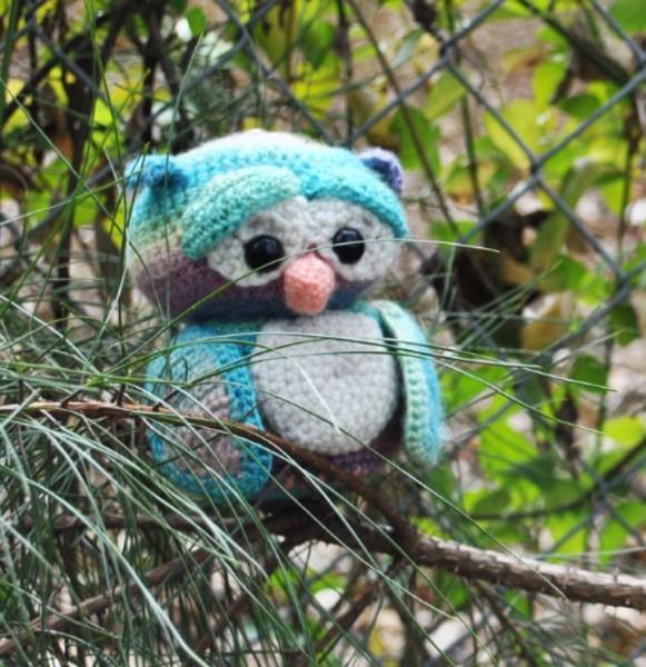 amigurumi, owl, crochet, pattern, free, bird