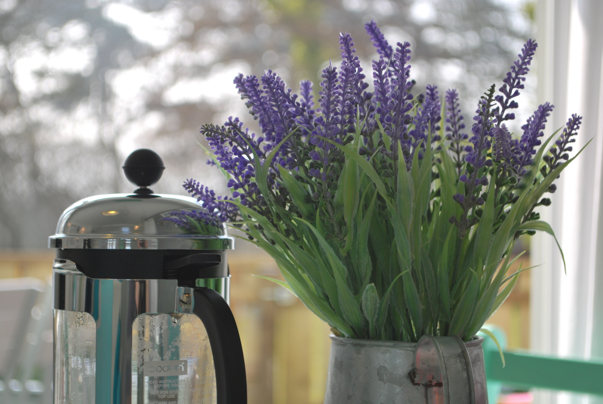 Dunster, luxury, Beach, hut, Salad, Days, cafetiere, flowers, lavender