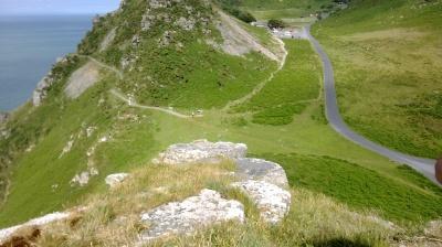 Valley of the rocks, somerset, dunster, beach, hut, salad, days, devon