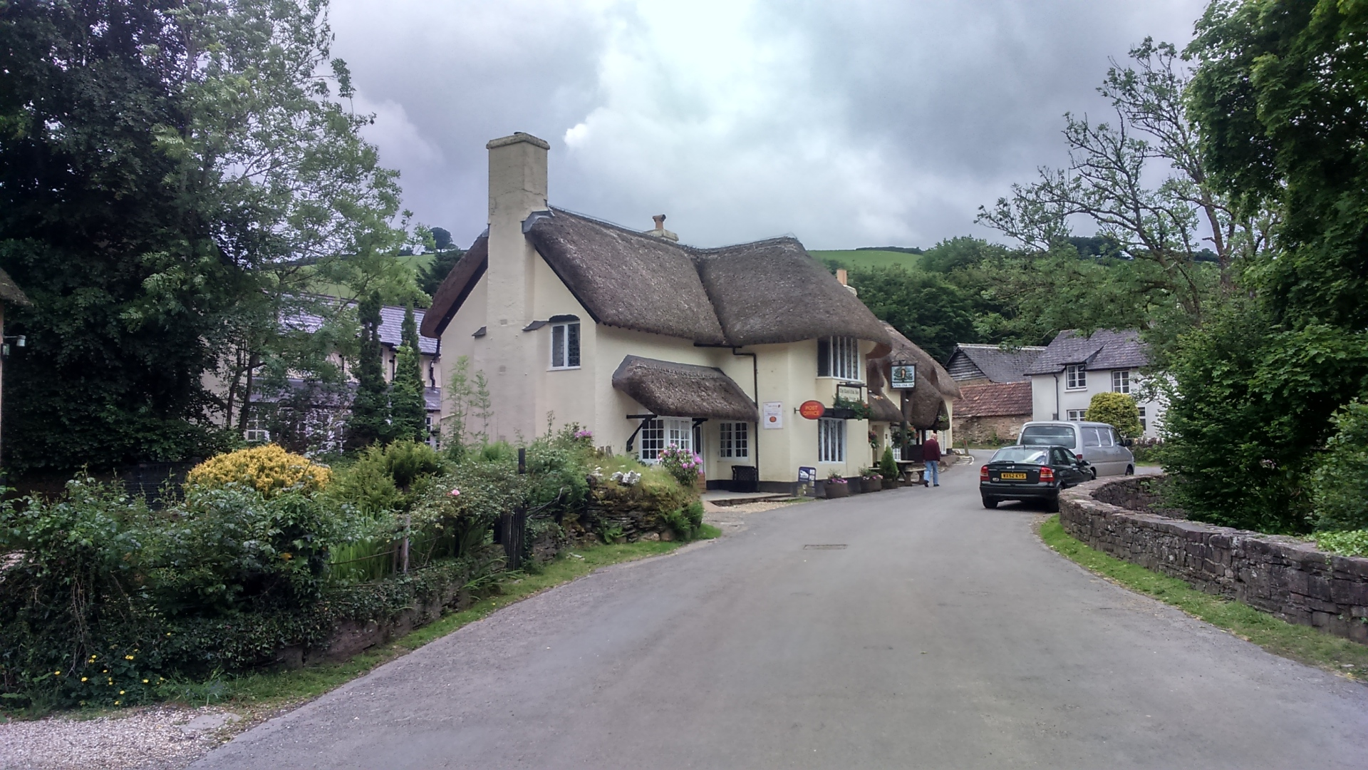 somerset, dunster, beach, hut, salad, days, Thatched cottages, Winsford, Exmoor