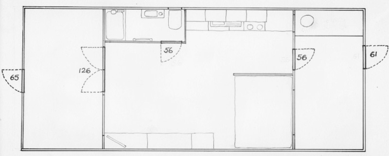 dunster, beach, salad, days, dunster beach hut, accessibility floor plan