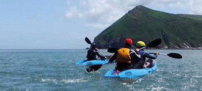 Dunster, beach, hut, salad, days, image, beach, hut, chalet, dunster, beach, Exmoor, channel adventure, kayaking, SUP, stand up paddleboard, coasteering, wildlife tours, mountain biking, knife throwing, axe throwing