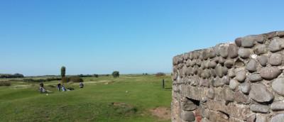 Dunster, beach, hut, salad days, beach hut, chalet, dunster beach, golf, golf course, ww2 bunker, pillbox