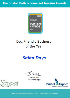 dunster, beach, salad, days, dunster beach hut, ultimate, beach, hut, bristol. bath, somerset, tourism, awards