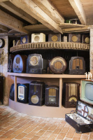 Dunster, beach, hut, salad, days, image, beach, hut, chalet, dunster, beach, bakelite museum