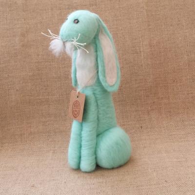 Rabbit, Hare, Bunny, The Fuzzy Hut, Needlefelting, Somerset, Etsy