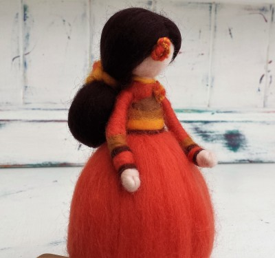 Figure, The Fuzzy Hut, Needlefelting, Somerset, Etsy
