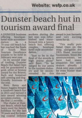 BBS, Bristol bath somerset, tourism awards, visit england, visit somerset