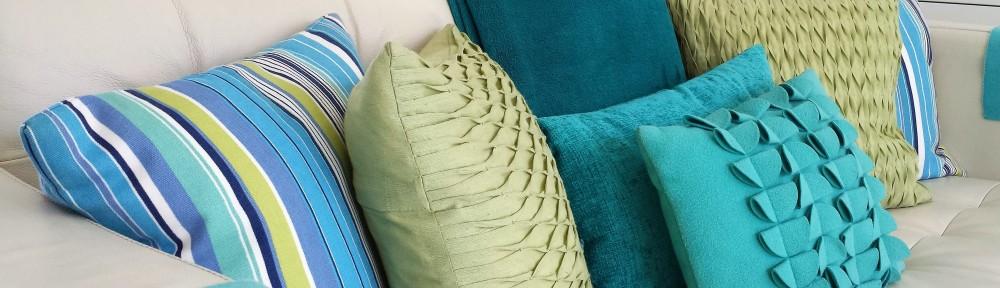 Salad Days, Dunster, Beach Hut, Chalet, soft furnishings, cushions