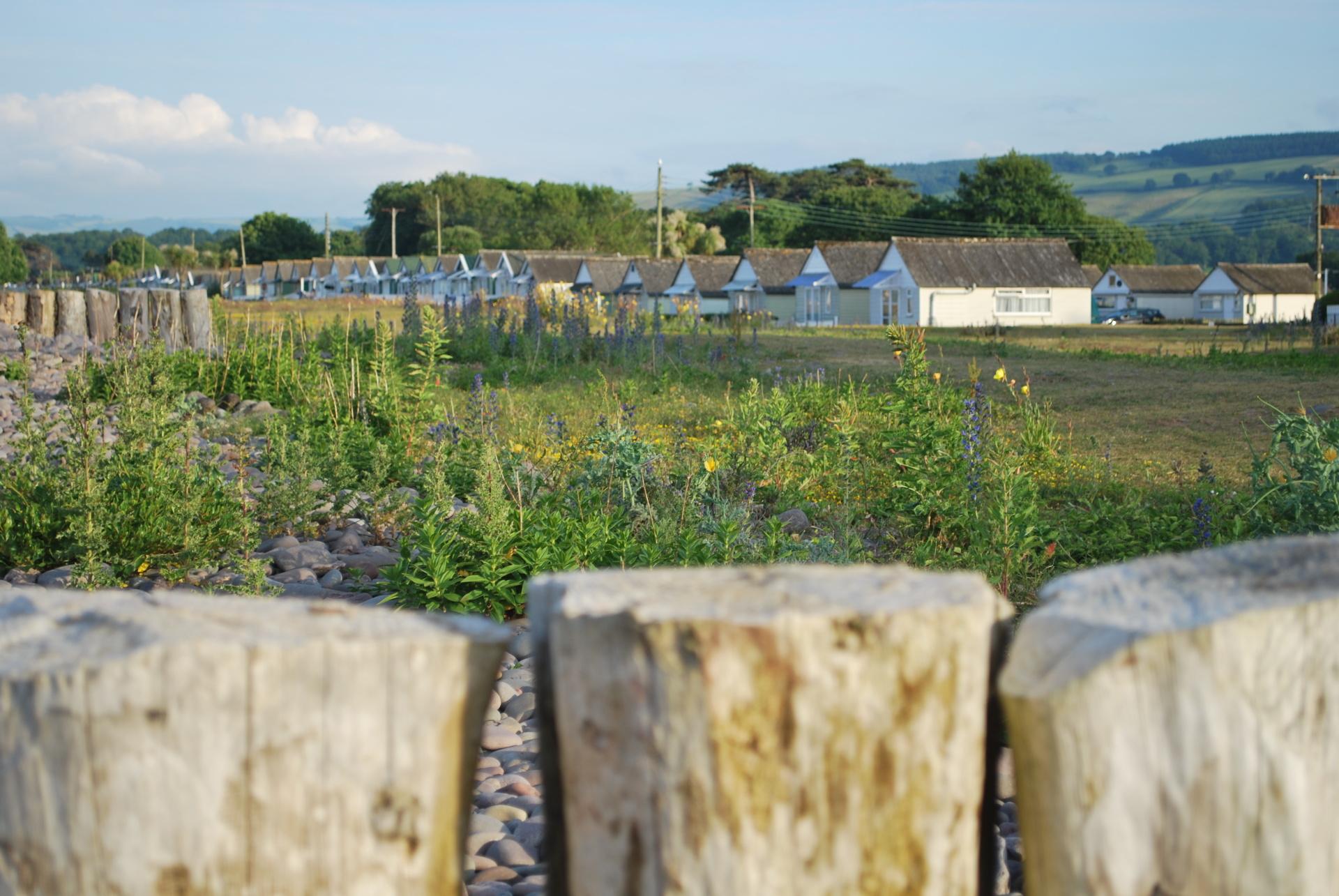 Dunster, beach, hut, salad days, beach hut, chalet, dunster beach