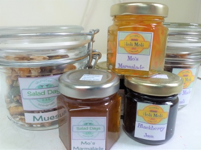 dunster, beach, salad, days, dunster beach hut, marmalade, homemade