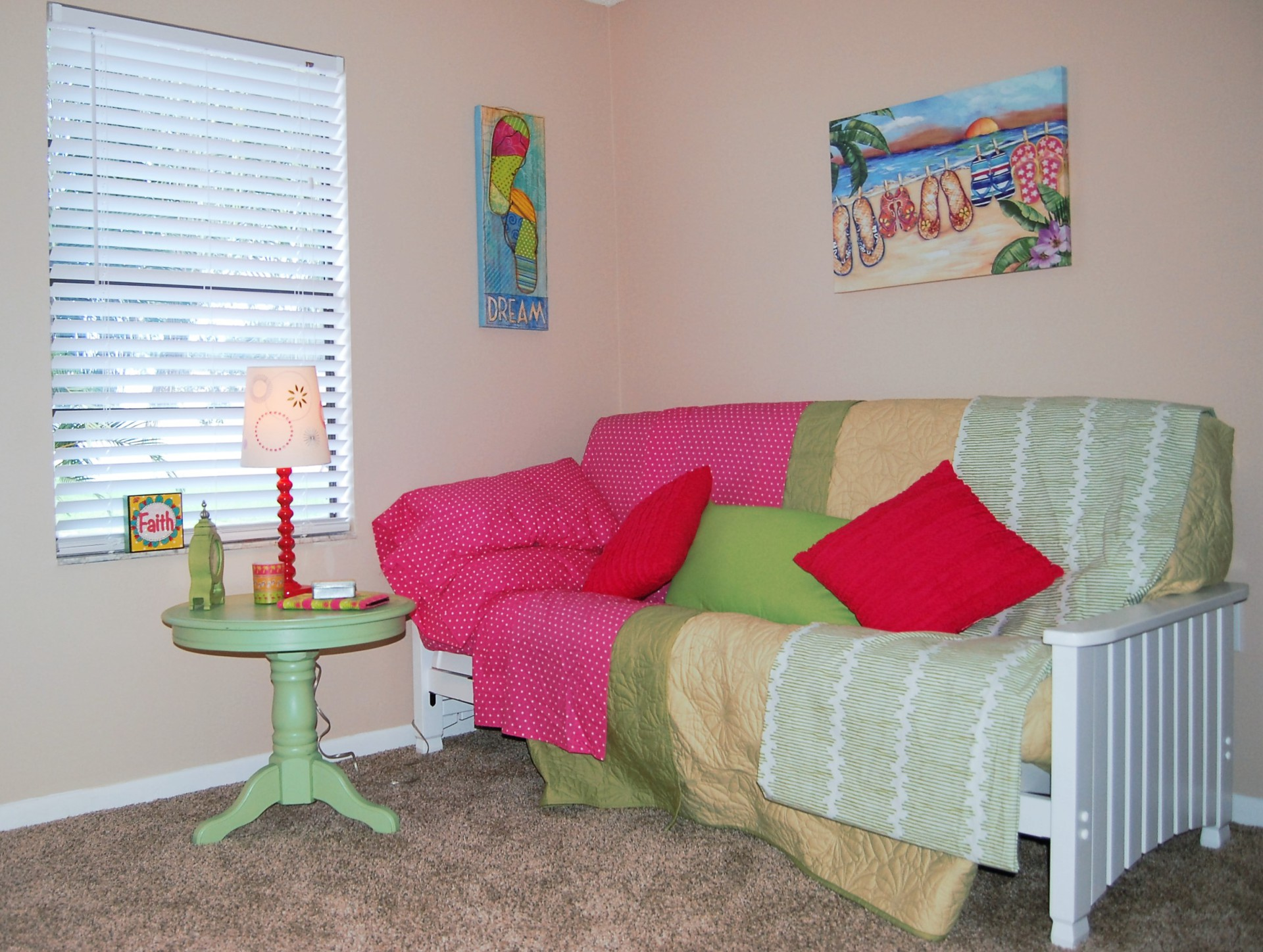 Owner Occupied Home Staging, Melbourne, Florida, home Staging, Girls Room