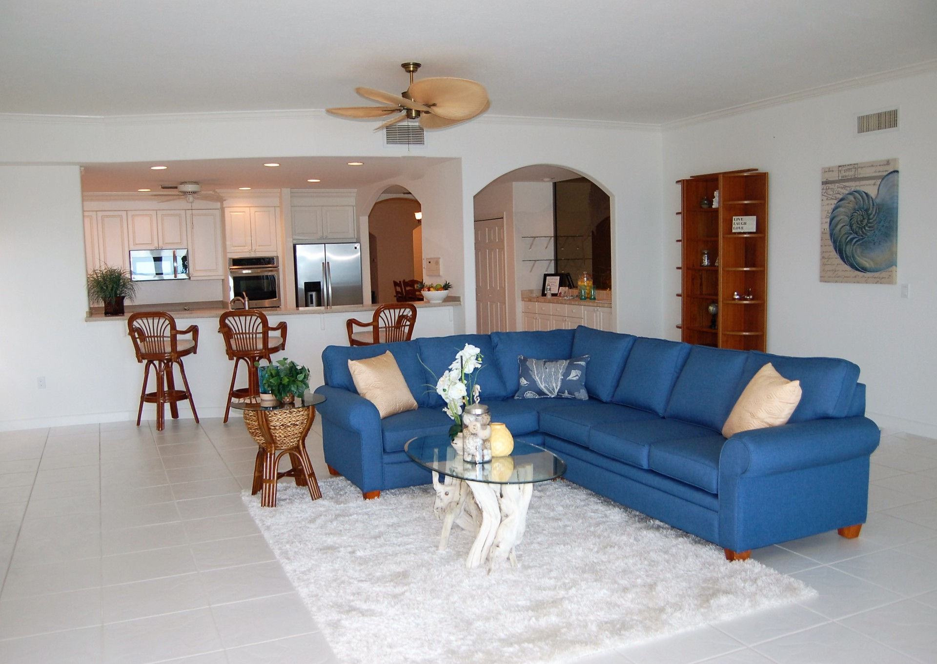 Penthouse Condo, Indialantic, Florida, Home Staging, Vacant Home Staging, Ocean front Condo, Beachside Condo, Beachside Home Staging