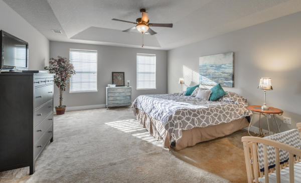 Master Bedroom Staging, Melbourne, Florida, Home Staging, Owner Occupied Home Staging