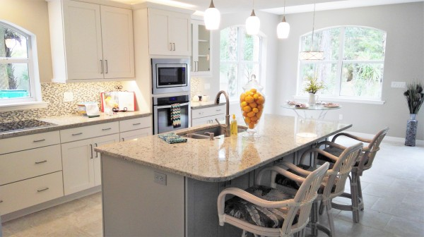Owner Occupied Home Staging, Titusville, Florida, home Staging, Kitchen Remodel,
