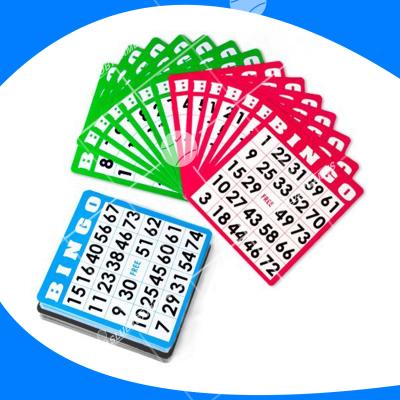 Pack de tarjetas de bingo