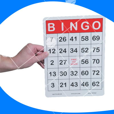Tarjeta de bingo JUMBO