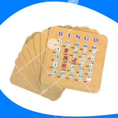 Tarjeta de bingo de lujo