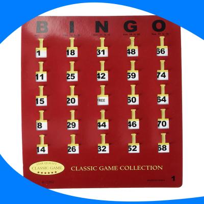 Tarjeta de bingo (Variante 4)