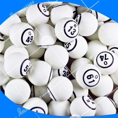 Bolas de bingo (Blancas)