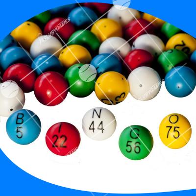 Bolas de bingo (Variante 2)