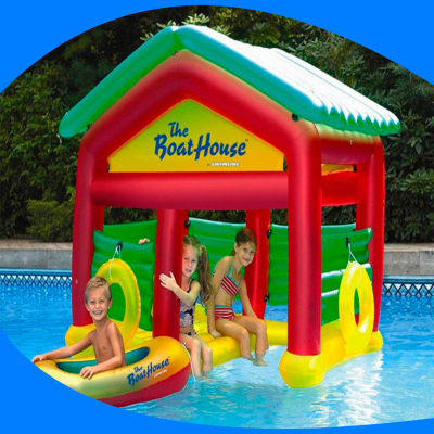 Bote-Casa Inflable