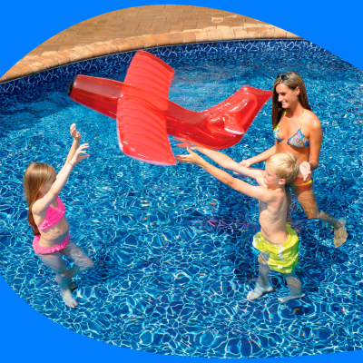 Avion Rojo inflable