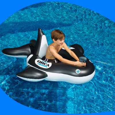 Ballena Inflable