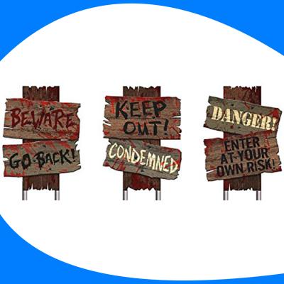 Letreros de Terror