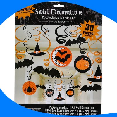 Swirl Decorations Halloween Type