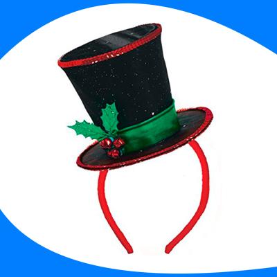 Diadema-Sombrero Navideño