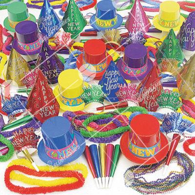 100p Accesorios de Celebracion de Fiesta de Fin de Año (Surtidos) SS0196